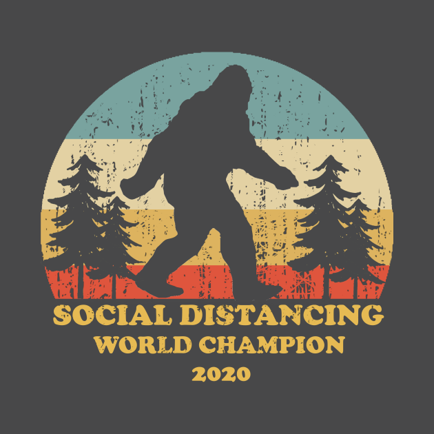 Bigfoot Social Distancing World Champion