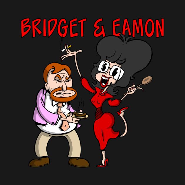 Bridget and Eamon - RTE Irish Television Cartoon Characters