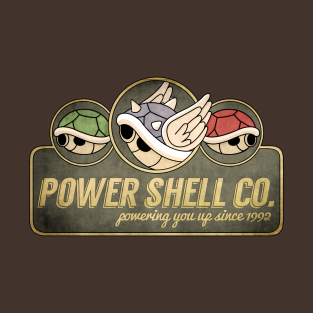 Power Shell Co. t-shirts
