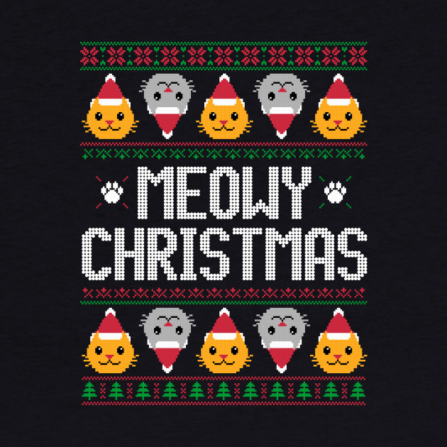 Meowy Christmas - Ugly Christmas Sweater