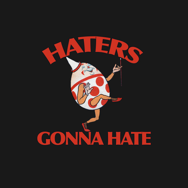 Retro haters gonna hate