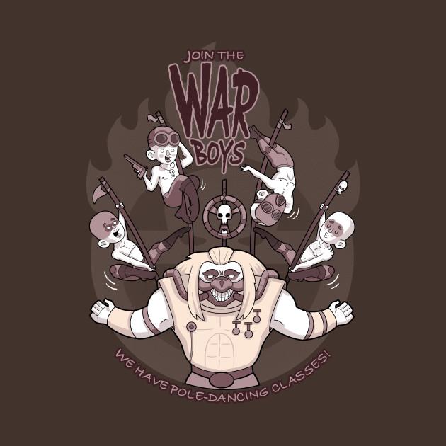 Join the war boys