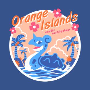 Orange Islands t-shirts