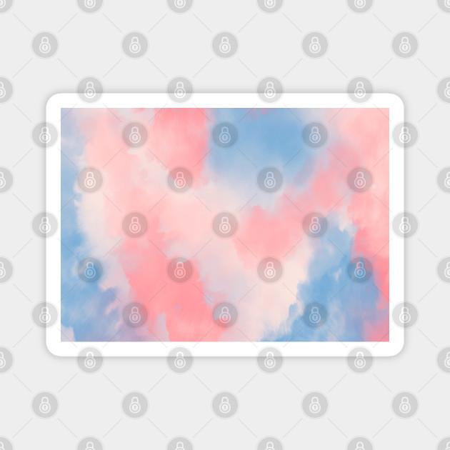 Blue & Pink Tide Dye