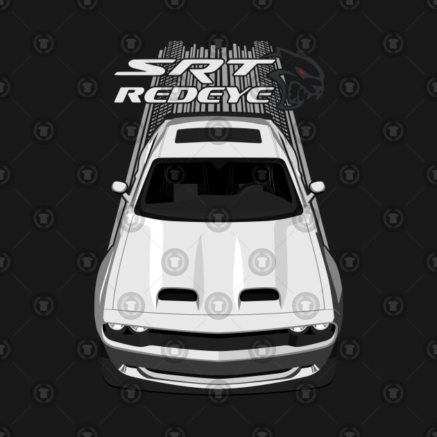Challenger Hellcat Redeye - White