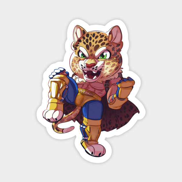 Cute King Of The Arena Tekken Magnet Teepublic Au