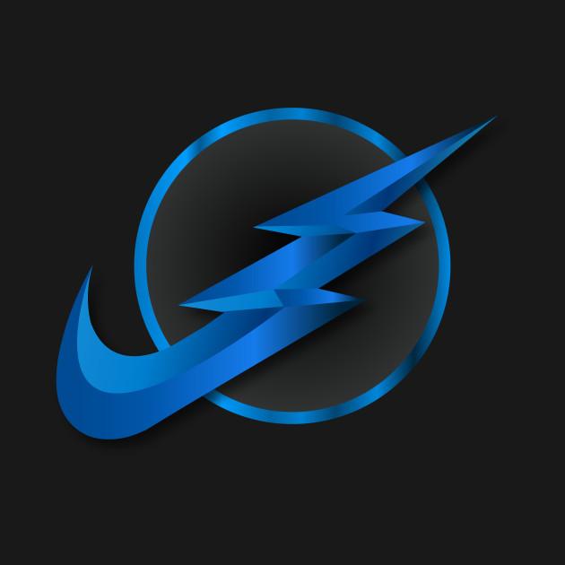 zoom flash nike logo reversed theflash t shirt teepublic