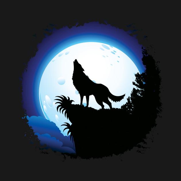 Картинки воющий волк
