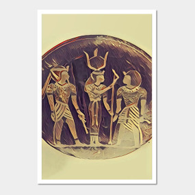 Egyptian Gods Wall Art
