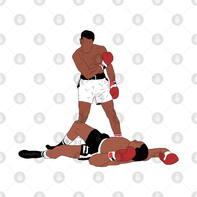 Muhammad Ali Iconic Pose