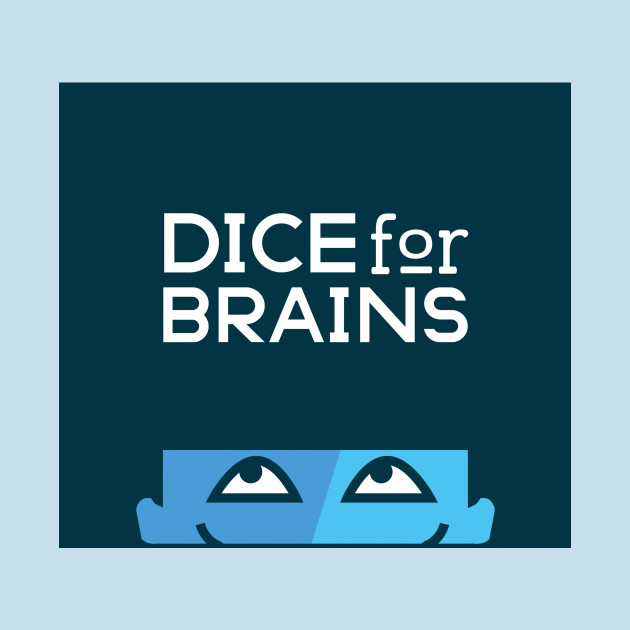 Dice For Brains Logo