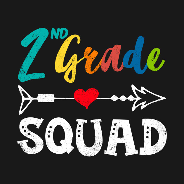 2nd Grade Squad Second Grade Gift Class Back to School - 2nd Grade ...