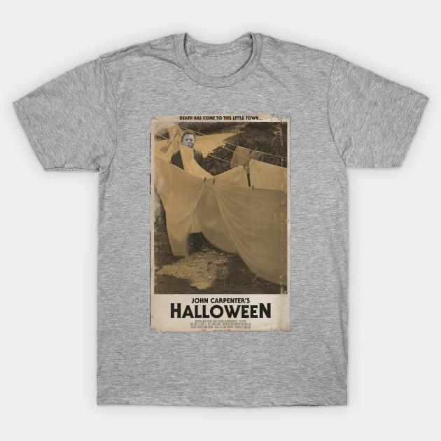 b7e37535 Halloween Movie Poster Tee - Horror - T-Shirt | TeePublic