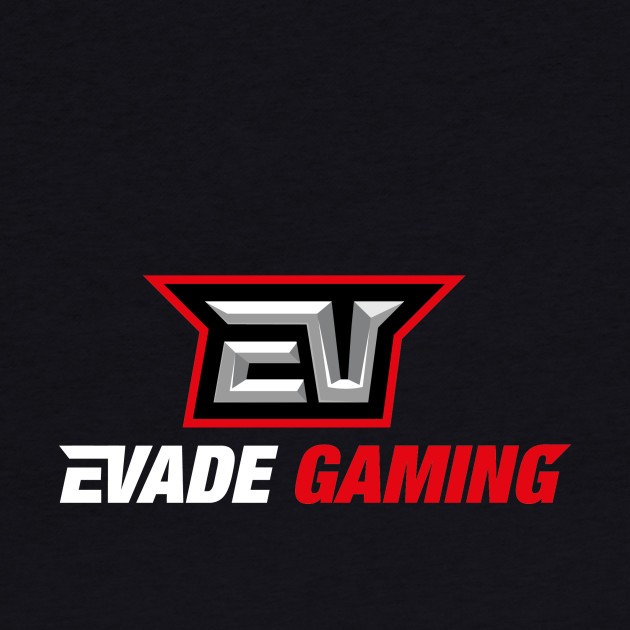 Evade gaming logo try number 10000000