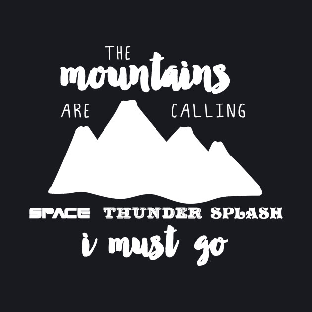The Mountains are Calling - light