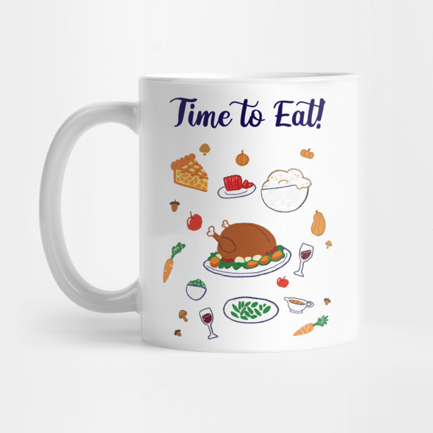 Thanksgiving dinner Mug