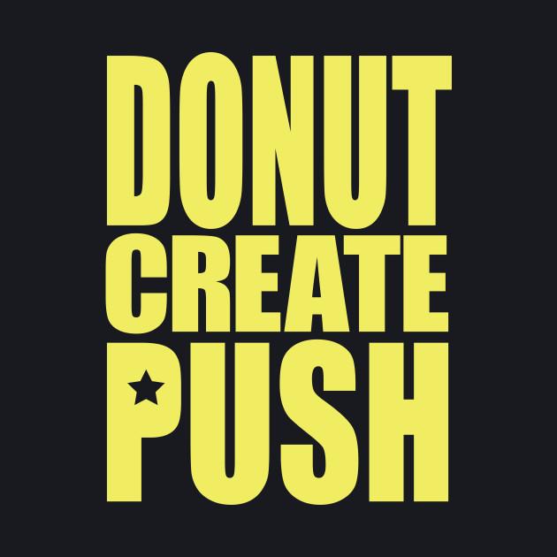 Donut Create Push