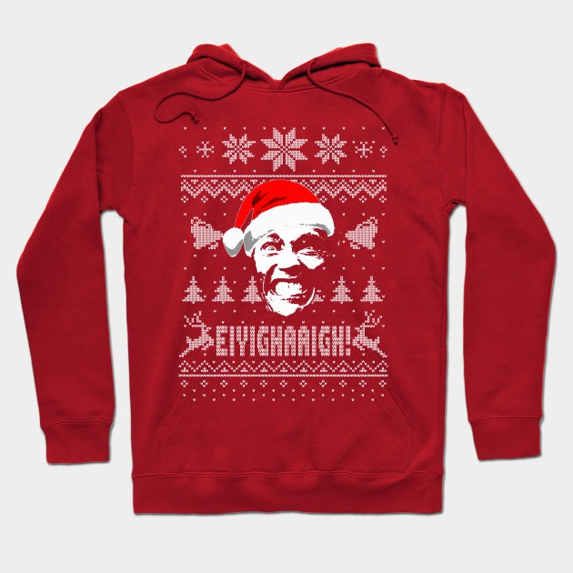 Funny Ugly Christmas Sweater.Arnold Funny Ugly Christmas Parody