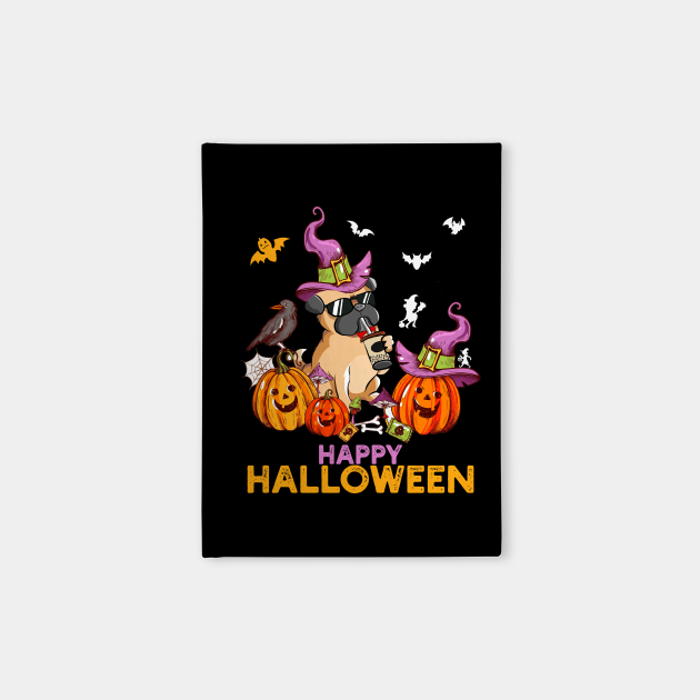 Pug Dog Halloween Pumpkin Costumes Thanksgiving Gift For Dog Lovers, Men, Women, Kids
