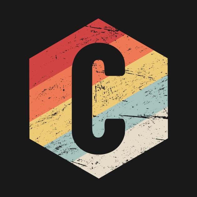 Retro C Programming Icon