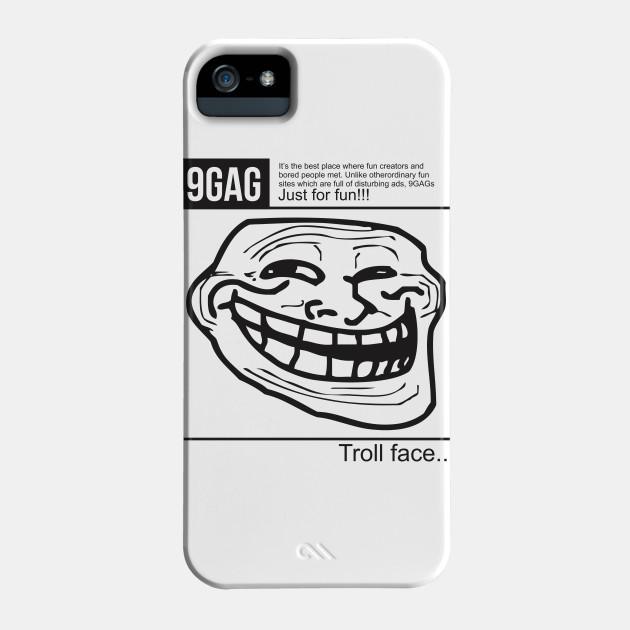 9gag troll face 9gag phone case teepublic voltagebd Image collections