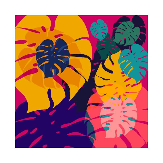 aloha flowers pop art tropical tapestry teepublic