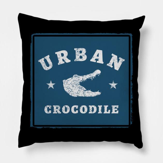 Urban crocodile vintage blue