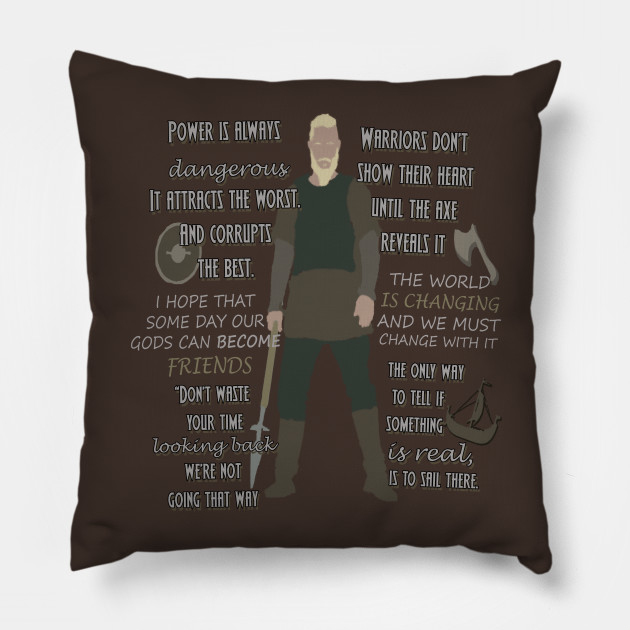 Vikings Quotes Vikings Pillow TeePublic Unique Vikings Sailors Quotes