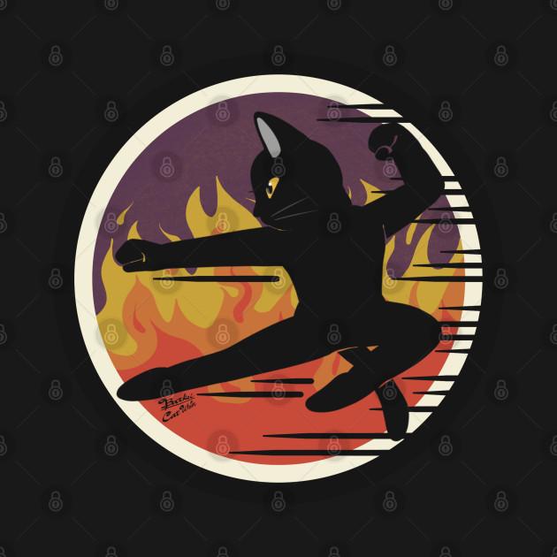 Kung-fu cat