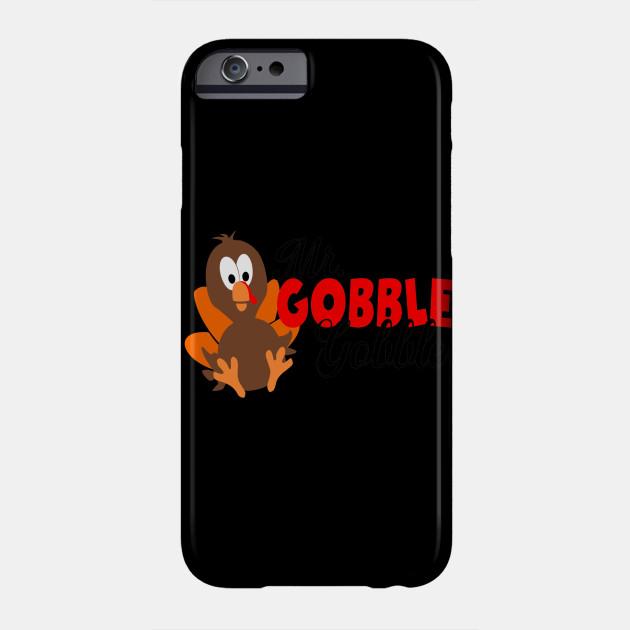 Kids Thanksgiving Mr. Gobble Gobble Thanksgiving Turkey Phone Case