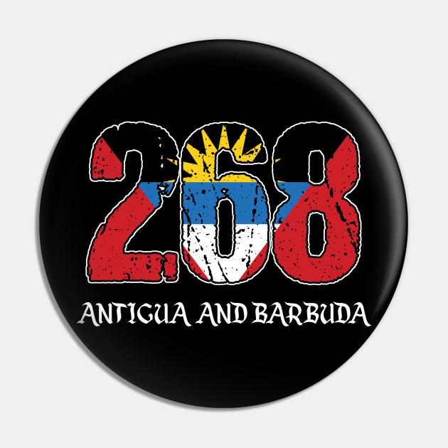 Antiguan And Barbudan Caribbean Country Saint Johns Gift 268 Antigua & Barbuda