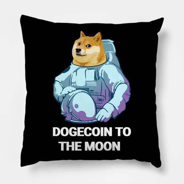 Dogecoin To The Moon Dogecoin Astronaut - Dogecoin To The ...