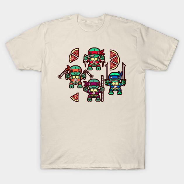 b87d87819 Teenage Mutant Ninja Turtles Pizza Party - Ninja Turtles - T-Shirt ...