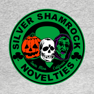 Silver Shamrock Novelties t-shirts