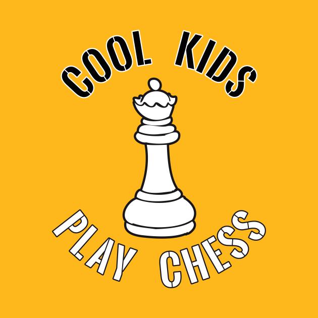 Cool Kids Play Chess Queen Piece