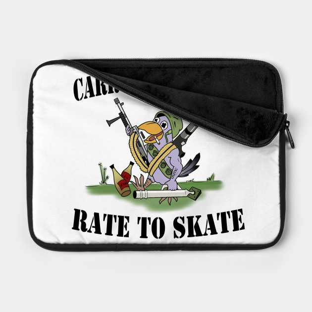 Carry The Weight Rate to Skate Colored