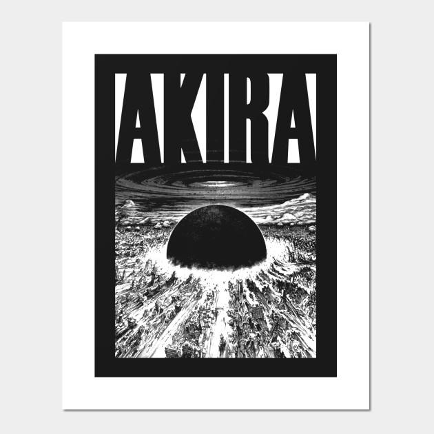 Akira Neo Tokyo Black Ed Akira Posters And Art Prints Teepublic Au