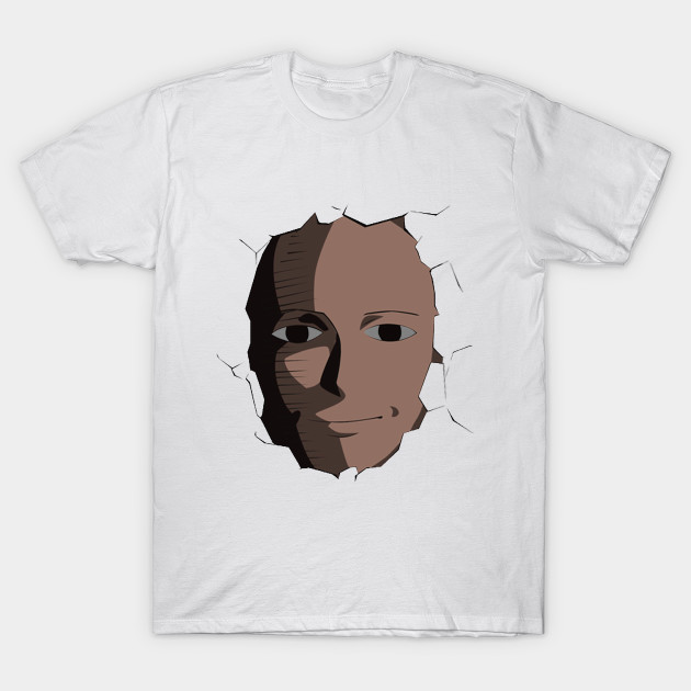 b7b818fd7b46b6 Saitama Face Expression (One Punch Man Anime) - Anime - T-Shirt ...