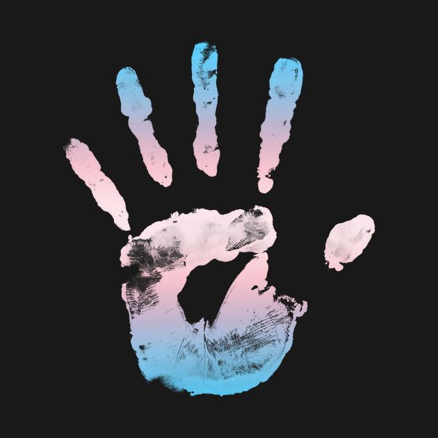 Trans Handprint