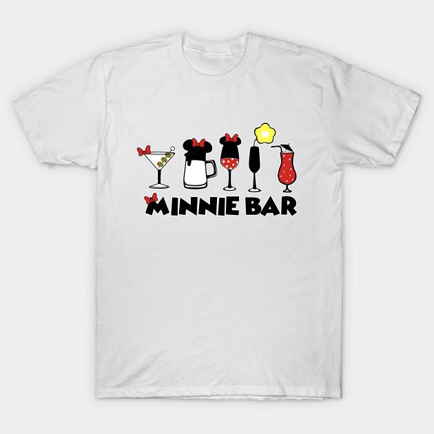 6d501a8cdf MINNIE BAR T-Shirt - Disney - T-Shirt   TeePublic