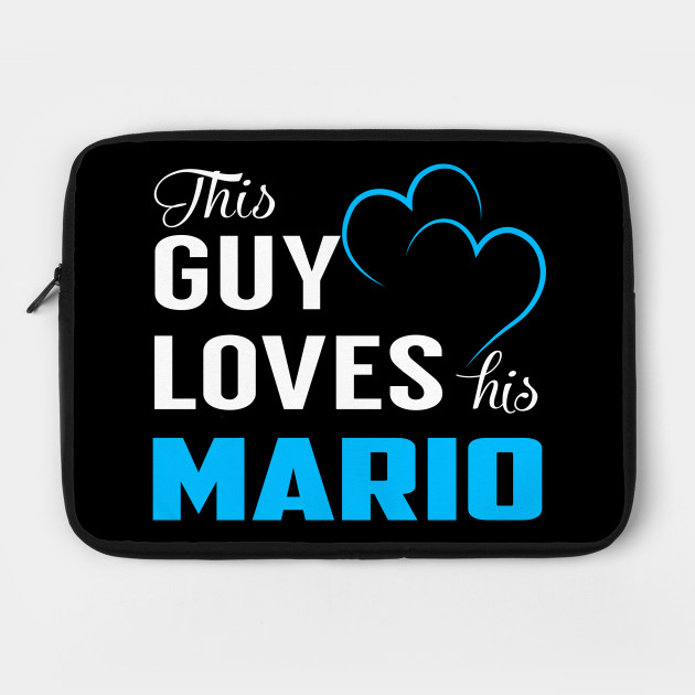 This Guy Loves His MARIO