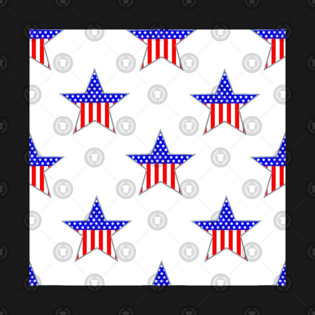 Patriotic American Flag Pattern