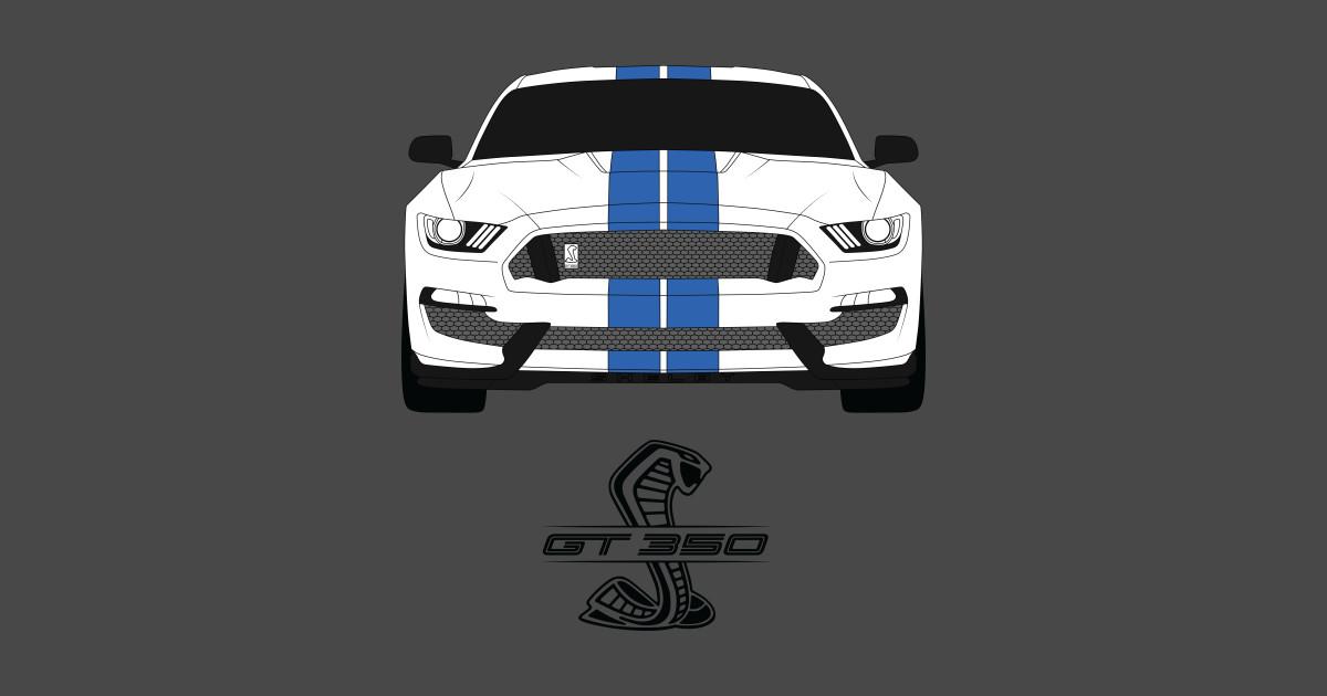 Shelby Gt350 Mustang Sticker Teepublic