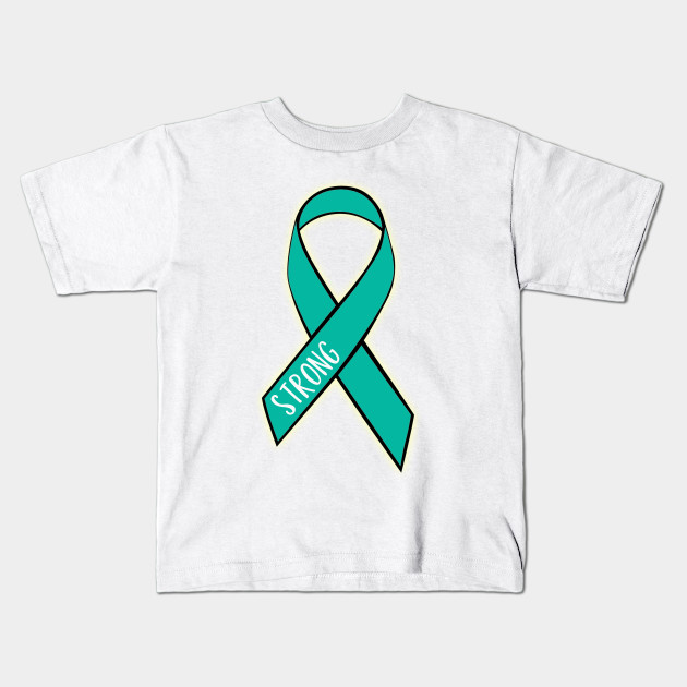 Ovarian Cancer Strong Ovarian Cancer Kids T Shirt Teepublic
