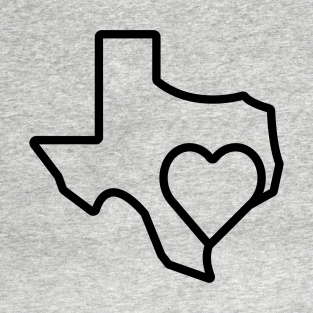 Hearts For Houston t-shirts