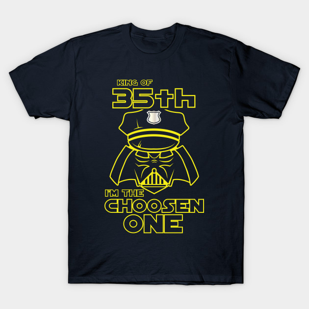 Star Wars Police For 35th Birthday Gift Him Daddy Husband Tee Shirt T