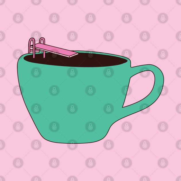 Drawing Cute Coffee Pool