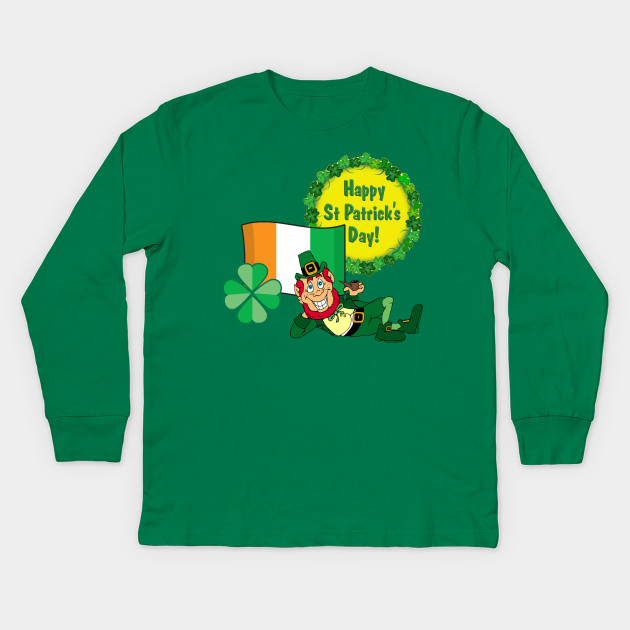 Saint Patricks Day Leprechaun T Shirt For Proud Irish Shamrock