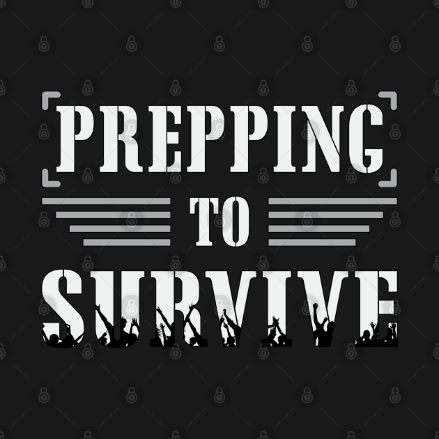 Prepper Doomsday Prepping Survival Virus Gift