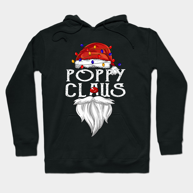 Funny Christmas Poppy Claus Christmas gifts Hoodie